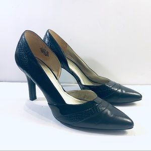 Anne Klein Patent Leather Classic D'orsay Heels
